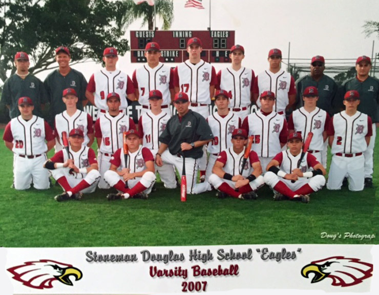 2007 Stoneman Douglas High School Varsity Baseball Team