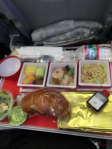 Airplane food in Japan