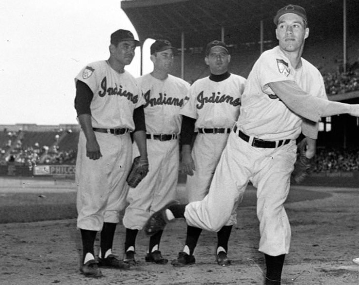 Bob Feller, Cleveland Indians in 1949