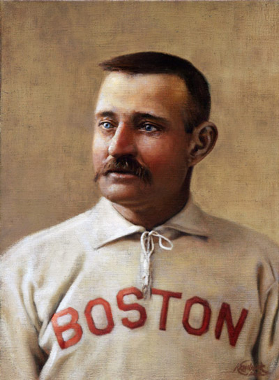 Charles Radbourn, Boston Baseball Player