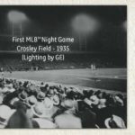 First Night Time Baseball Game, 1935